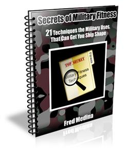 secrets of military fitness- fred medina